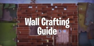 Fortnite Battle Royale wall building guide