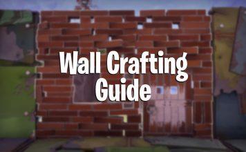Fortnite Battle Royale wall building guide