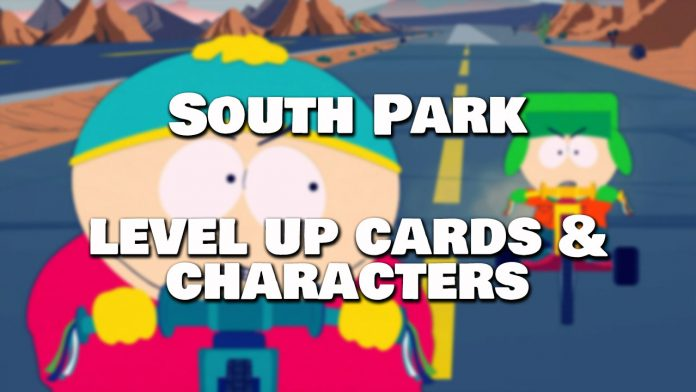south park phone destroyer how to upgrade cards and characters