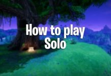 Fortnite how to play solo