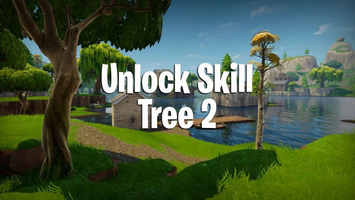 how to unlock skill tree tier 2 in fortnite