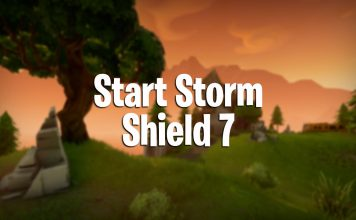 how to start storm shield defense 7
