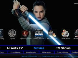 Kodi Razer Build Movies