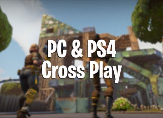 how to play fortnite battle royale cross platform play pc and ps4