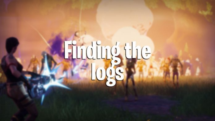 how to see fortnite logs
