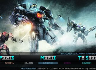 Kodi HyperSonic Build Movies
