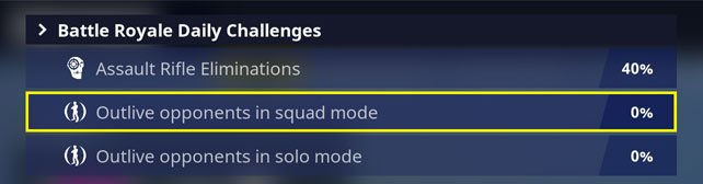 change daily challenges fortnite battle royale challenge to change