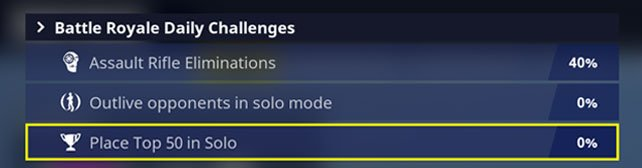 change daily challenges fortnite battle royale new challenge