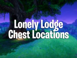 fortnite battle royale lonely lodge chest locations