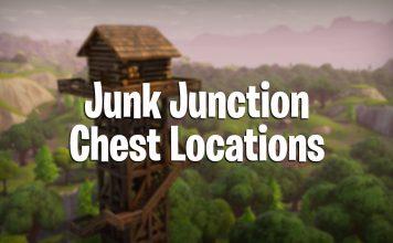 Junk Junction chest locations fortnite battle royale