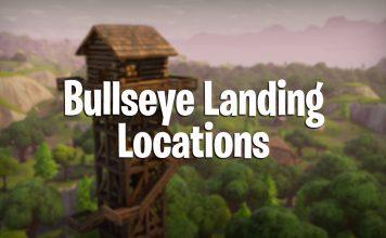 bulleye landing locations in fortnite battle royale