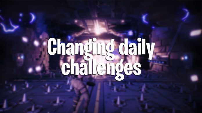 change daily challenges fortnite battle royale