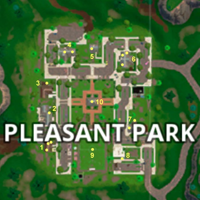 Pleasant Park Chest Locations in Fortnite Battle Royale