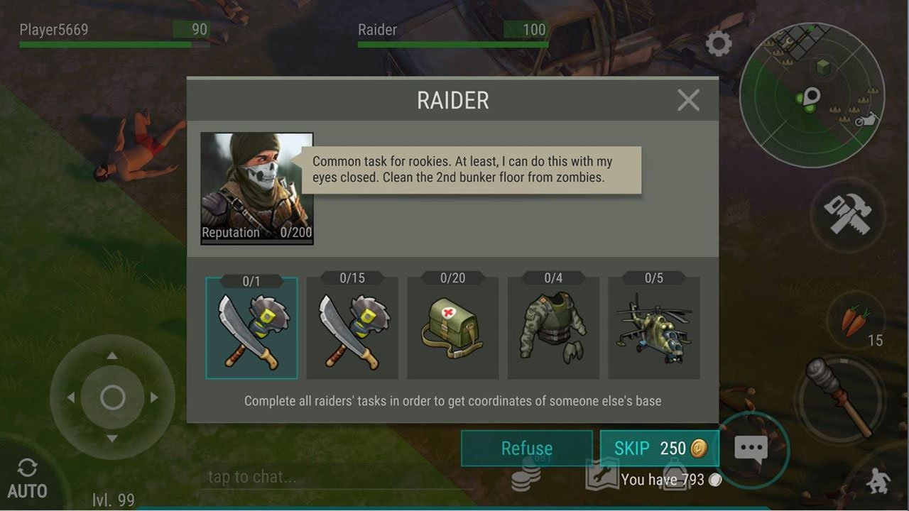 Last Day on Earth Patch 1.7.9 march 2018 raider