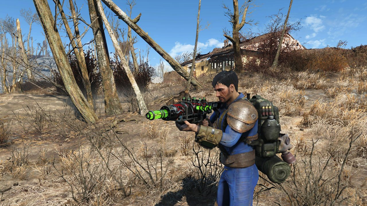 fallout new vegas weapons in fallout 4