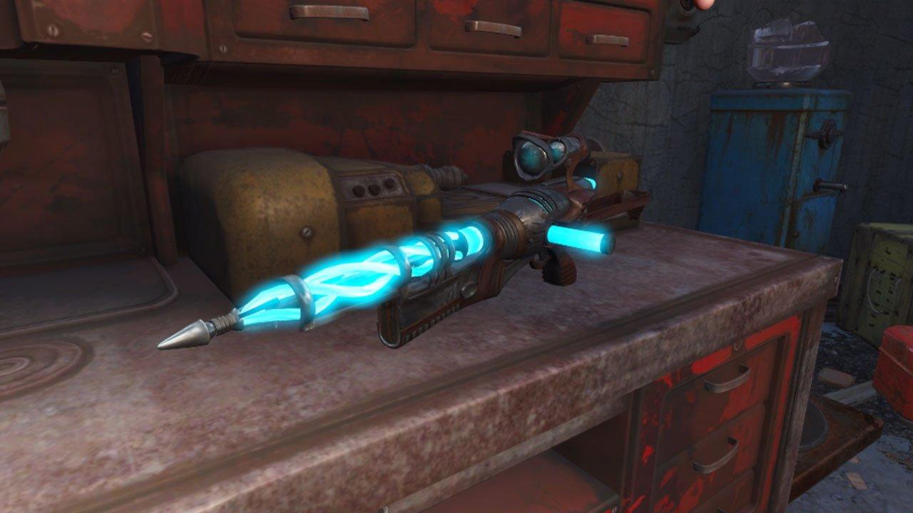 alien assault rifle weapon mod fallout 4