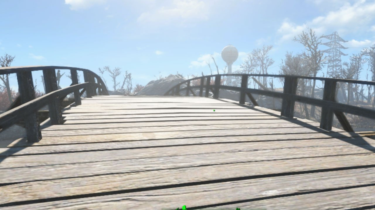 fallout 4 settlement and building mods for ps4 fixed sanctuary bridge