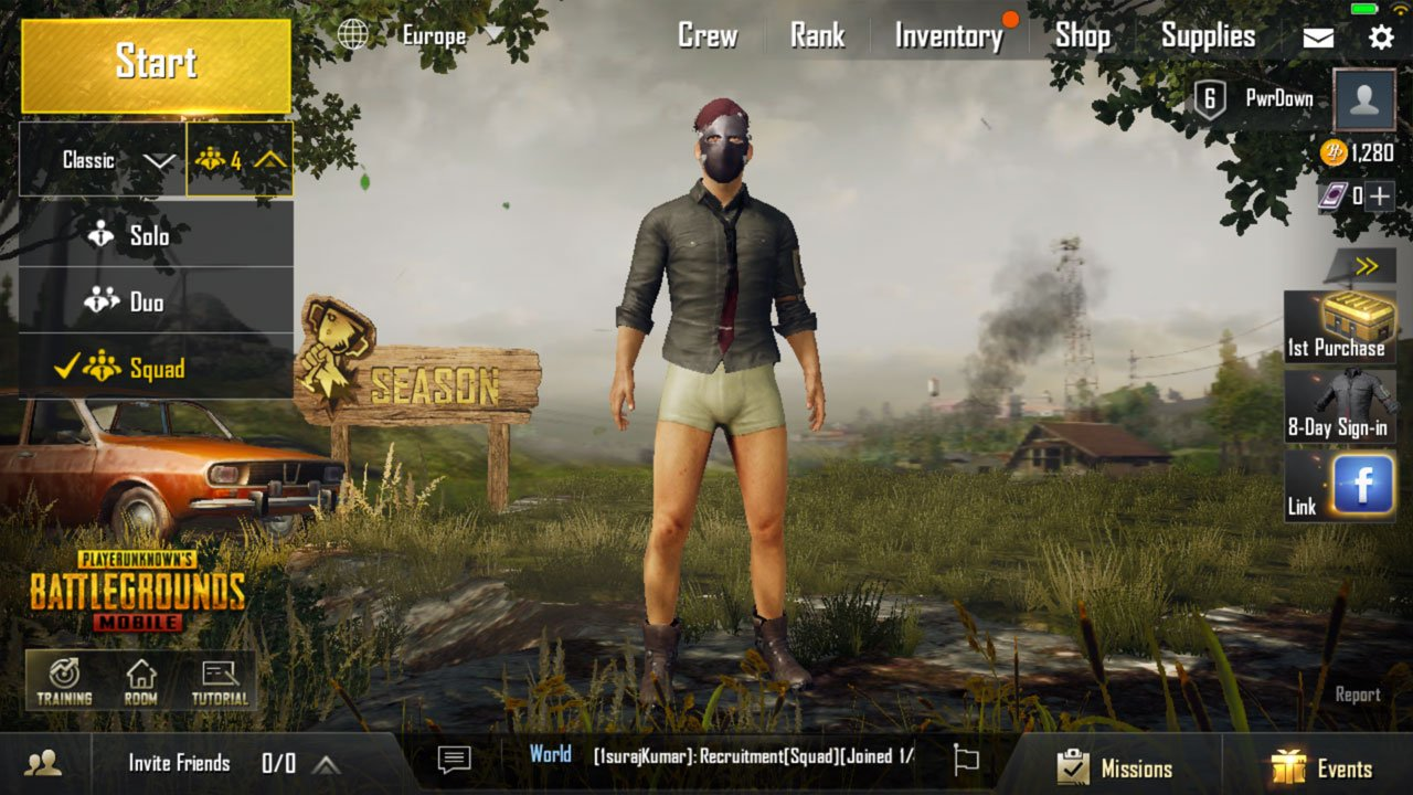 pubg mobile how to break items