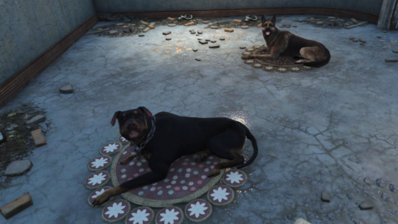 fallout 4 best companion mods for ps4  dog rug