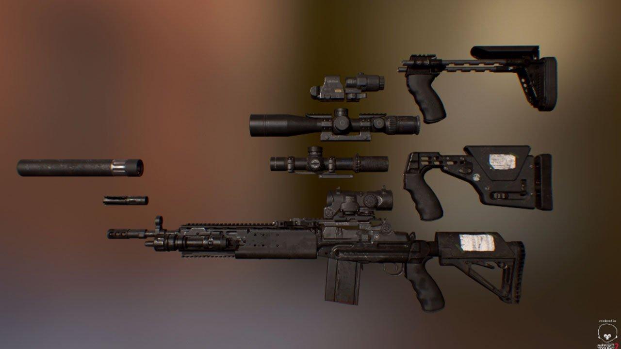 mk14 ebr fallout 4 mod