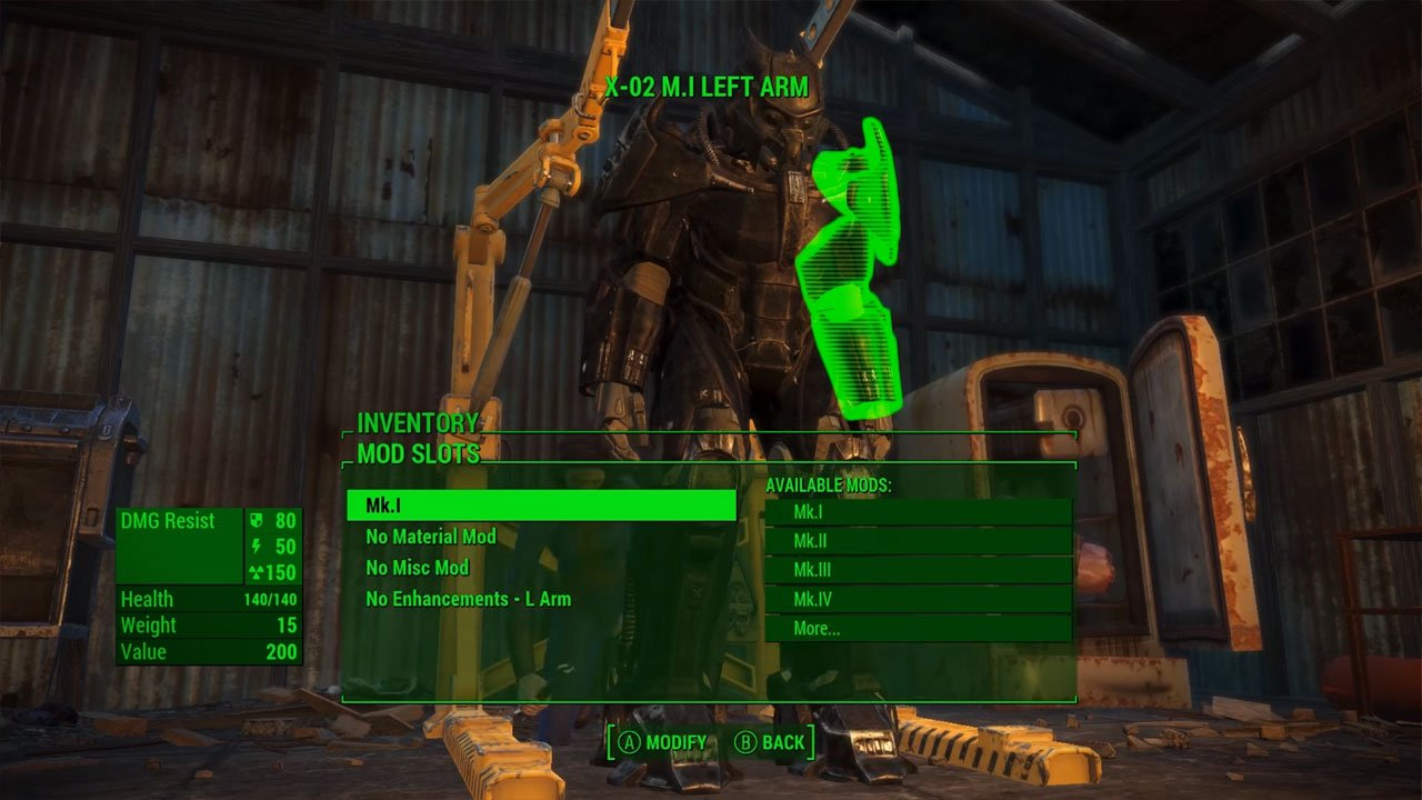 fallout 4 best armor mods xbox one enclave x-02 power armor