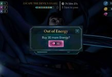 how to get more energy in harry potter hogwarts mystery