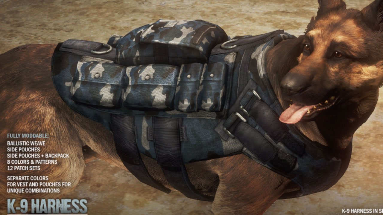fallout 4 best armor mods xbox one k9 harness