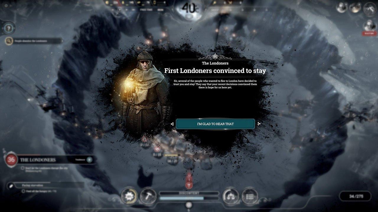 Frostpunk londoners stay