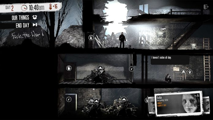 How to melt snow in this war of mine