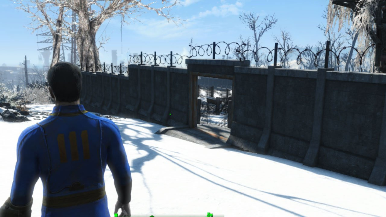 fallout 4 settlement and building mods for ps4 pre-walled settlements