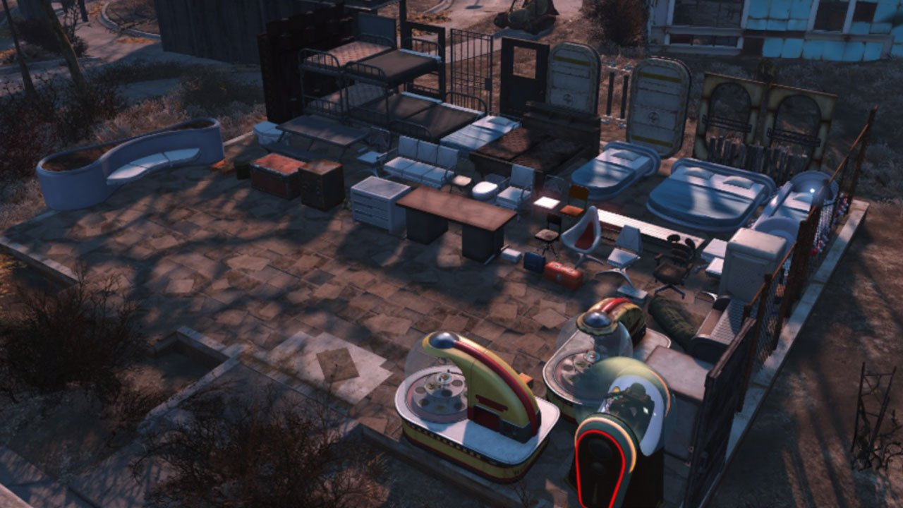 fallout 4 settlement and building mods for ps4 settlement supplies extended