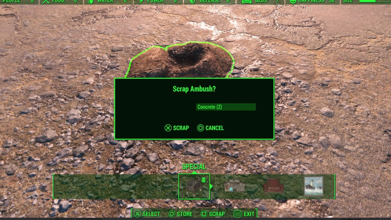 fallout 4 settlement and building mods for ps4 scrap that settlement