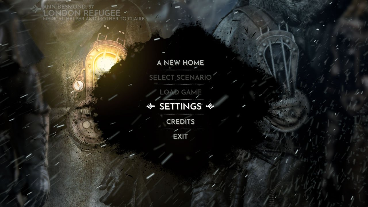 frostpunk open settings