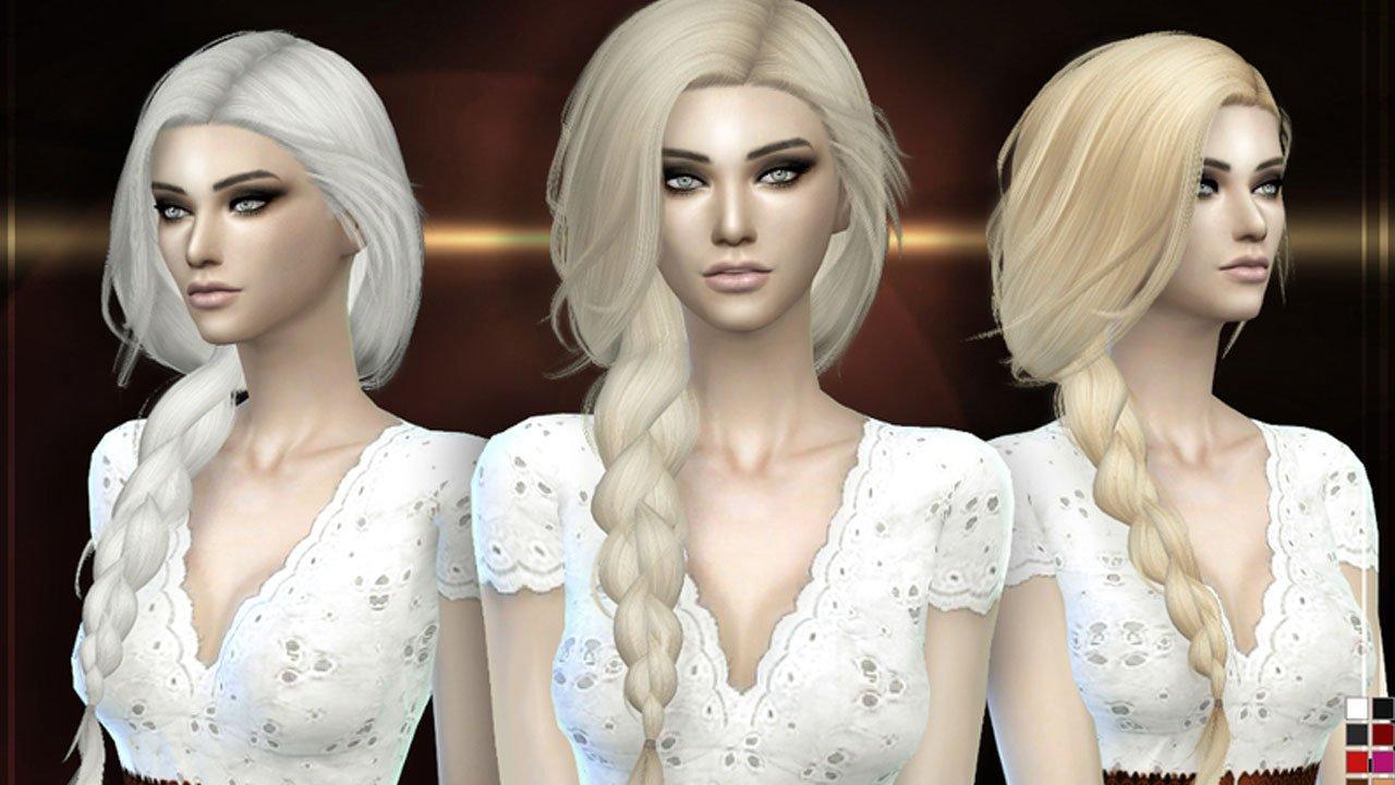 sims 4 summer haze hair style mod