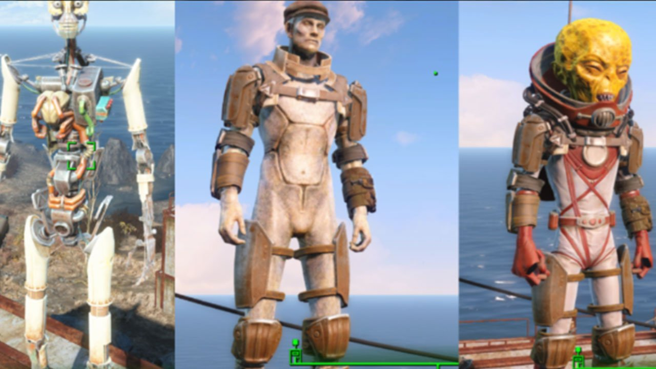 fallout 4 best armor mods for ps4 uco base