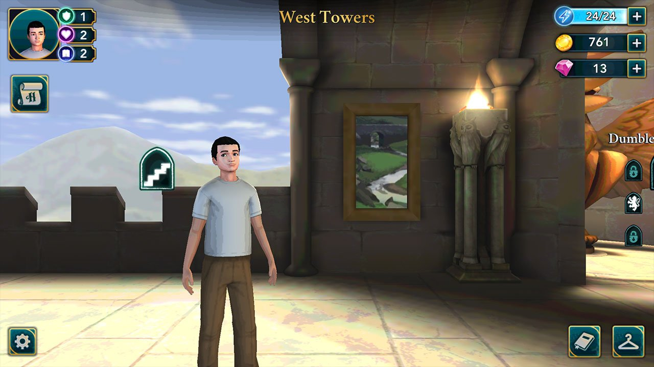 recommended specifications for harry potter hogwarts mystery on ios and android