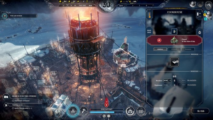 how to get food in frostpunk
