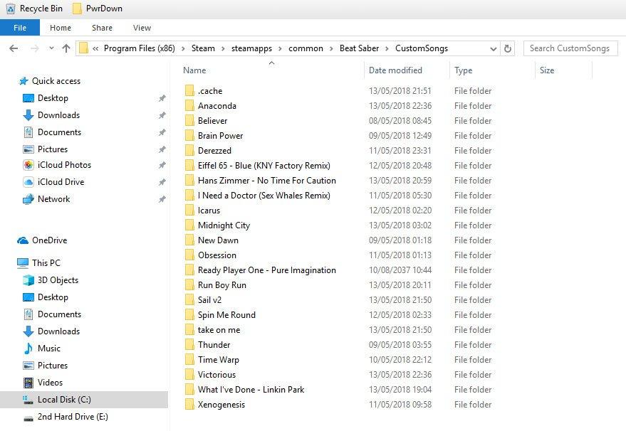 BeatSaber how to install custom songs