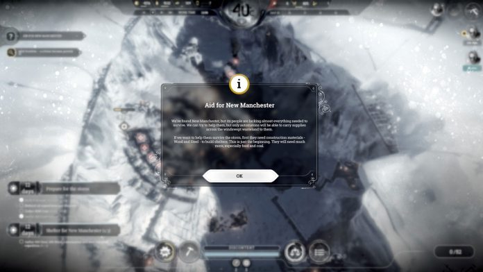 how to send relief expeditions in frostpunk