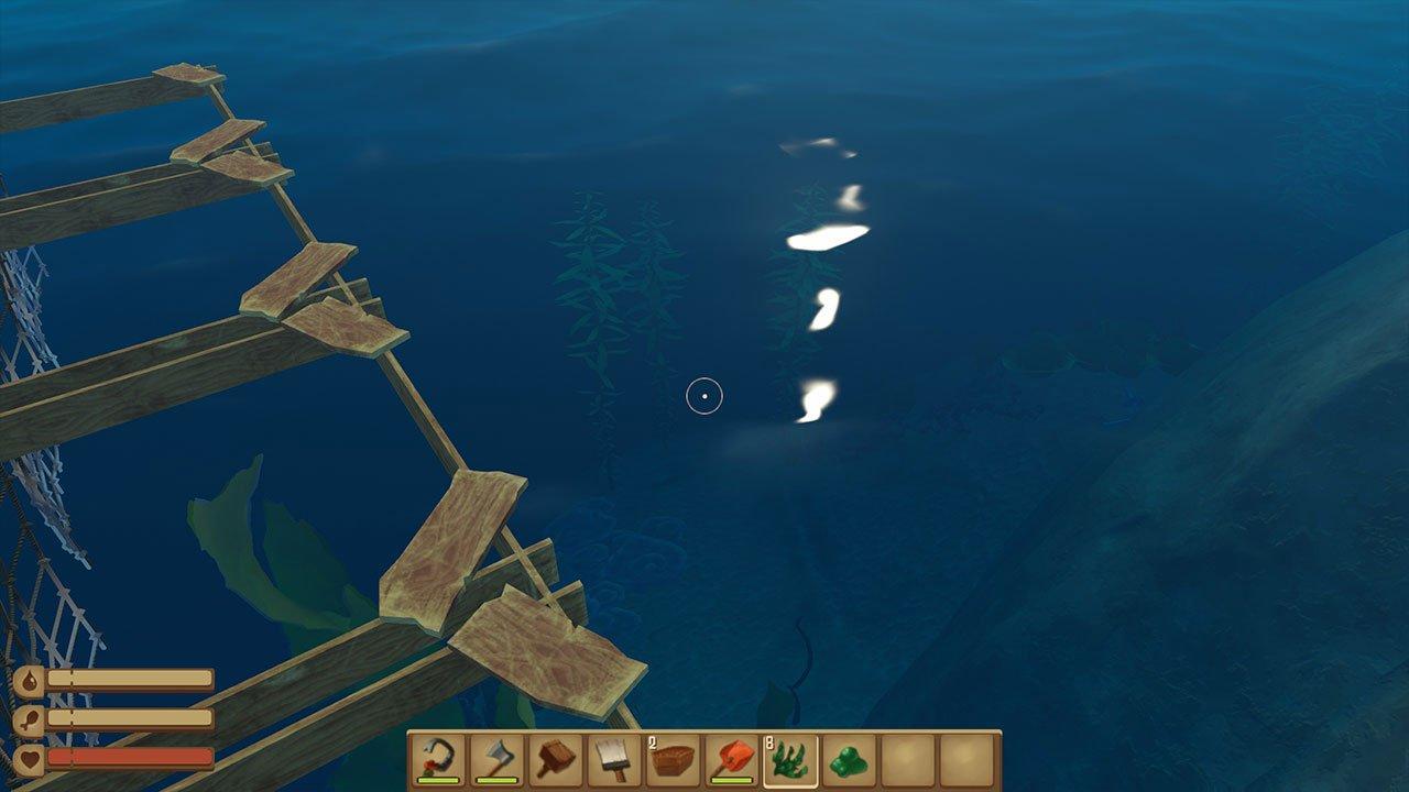 raft how to get seaweed