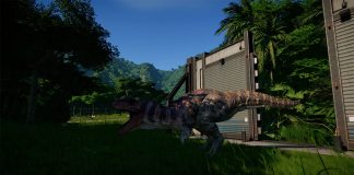 jurassic world evolution how to build electric fences
