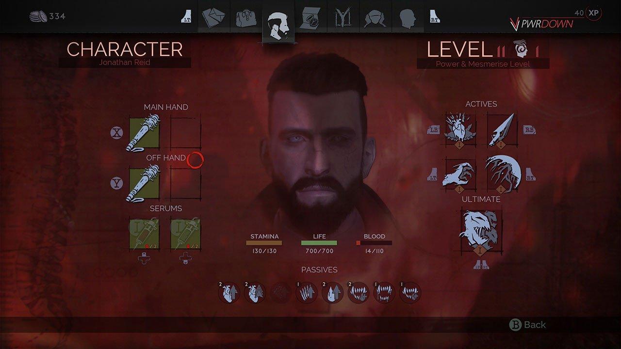 equip guns vampyr