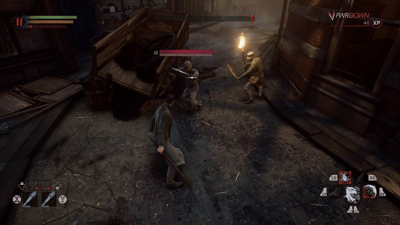 stun bar enemy bite vampyr