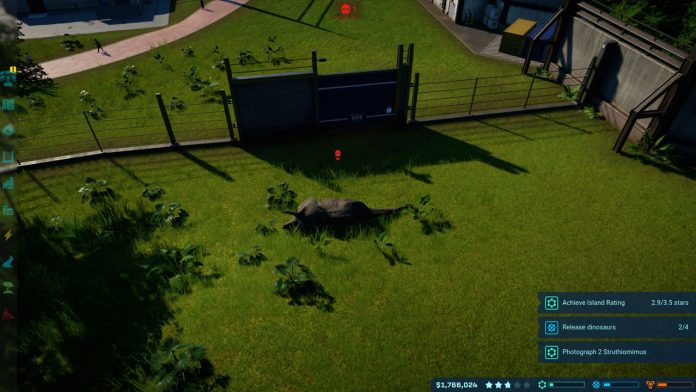how to remove dead dinosaurs Jurassic world evolution