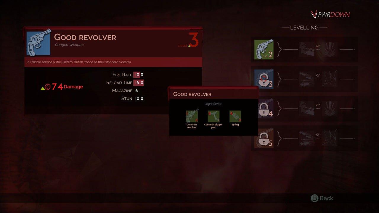 vampyr upgrade weapons