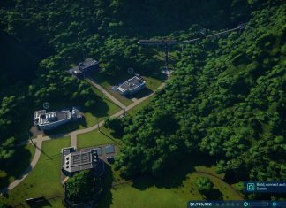 how to build paths in Jurassic world evolution