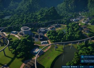 monorail crafting Jurassic world evolution