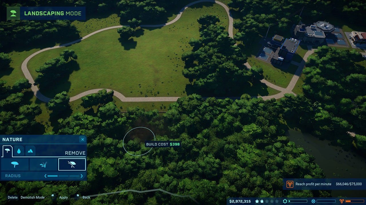 remove trees jurassic world evolution
