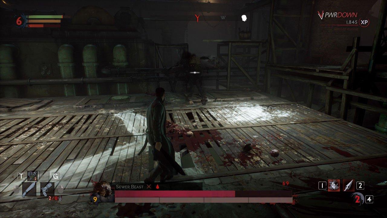 sewer beast boss vampyre