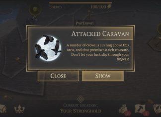 attacked caravan event guide grim soul